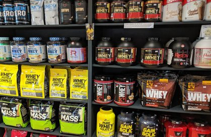 Whey Protein on the Shelves